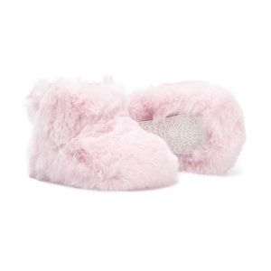 NEW! UGG Jesse Bow Pink Fluff Bootie 4/5💕